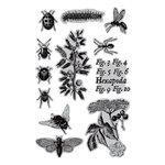 Hampton Art - 7 Gypsies - Cling Mounted Rubber Stamps - A Bug's Life