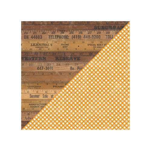 Jillibean Soup - Irish Farm House Soup Collection - 12 x 12 Double Sided Paper - Sea Salt