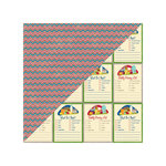 Jillibean Soup - Fresh Vegetable Soup Collection - 12 x 12 Double Sided Paper - Bermuda Onion