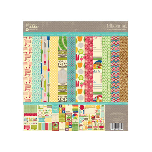Jillibean Soup - Fresh Vegetable Soup Collection - 12 x 12 Collection Pack