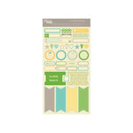 Jillibean Soup - Chilled Cucumber Soup Collection - Cardstock Stickers - Labels