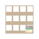 Jillibean Soup - Placemats - 12 x 12 Die Cut Kraft Paper - Frames