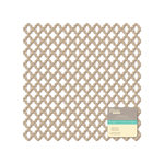 Jillibean Soup - Placemats - 12 x 12 Die Cut Kraft Paper - Lattice