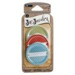 Hampton Art - Jar Jewelry - Metal Lid Cover - Dot Print