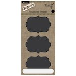 Hampton Art - Jar Jewelry Collection - Large Chalkboard Stickers - Fancy Shapes