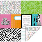 KI Memories - Mini Celebrations Collection - 12 x 12 Double Sided Paper - Best Friends