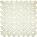 KI Memories - Vintage Charm Collection - 12 x 12 Die Cut Lace Paper - Lace