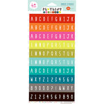 KI Memories - Playlist Collection - Vellum Stickers - Glass Block Alphabet