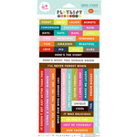 KI Memories - Playlist Collection - Vellum Stickers - Word Strips