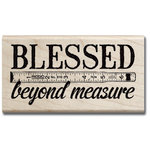 Hampton Art - 7 Gypsies - Wood Mounted Stamps - Blessed Beyond Measure