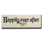 Hampton Art - 7 Gypsies - Wood Mounted Stamps - Happily Ever After