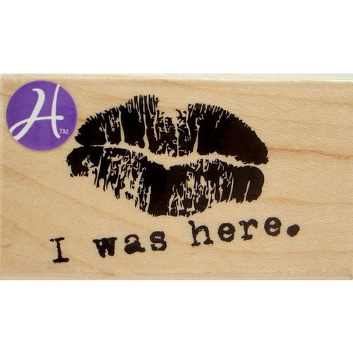 Hampton Art - 7 Gypsies - Wood Mounted Stamps - I Was Here
