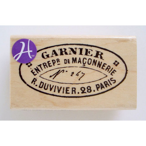 Hampton Art - 7 Gypsies - Wood Mounted Stamps - Garnier Seal