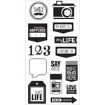 Hampton Art - Clear Acrylic Stamps - Say Cheese