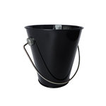 Hampton Art - Tin Pail - Small - Black