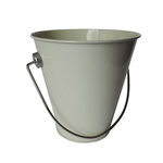 Hampton Art - Tin Pail - Small - Cream