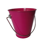 Hampton Art - Tin Pail - Small - Fuchsia