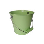 Hampton Art - Tin Pail - Medium - Pastel Lime