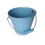 Hampton Art - Tin Pail - Medium - Pastel Blue