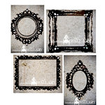 House Of 3 - Heidi Swapp - Jewel Wall Art - Ornate Frames