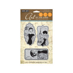 Hero Arts - Art of the Card - Repositionable Rubber Stamps - Enchante