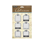 Hero Arts - Art of the Card - Repositionable Rubber Stamps - Little Tags