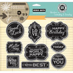 Hero Arts - Art of the Card - Repositionable Rubber Stamps - Good Luck