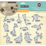Hero Arts - Stamp Your Story Collection - Repositionable Rubber Stamps - Astrology Signs