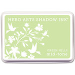 Hero Arts - Dye Ink Pad - Shadow Ink - Mid-Tone - Green Hills