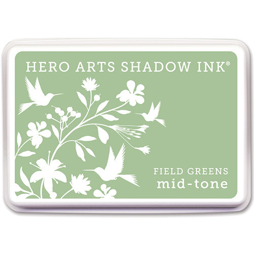 Hero Arts - Dye Ink Pad - Shadow Ink - Mid-Tone - Field Greens