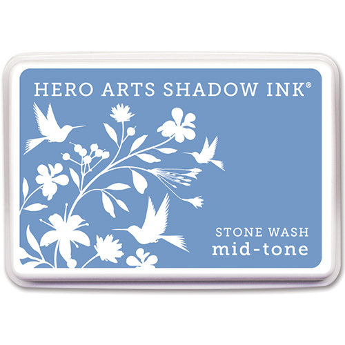 Hero Arts - Dye Ink Pad - Shadow Ink - Mid-Tone - Stone Wash