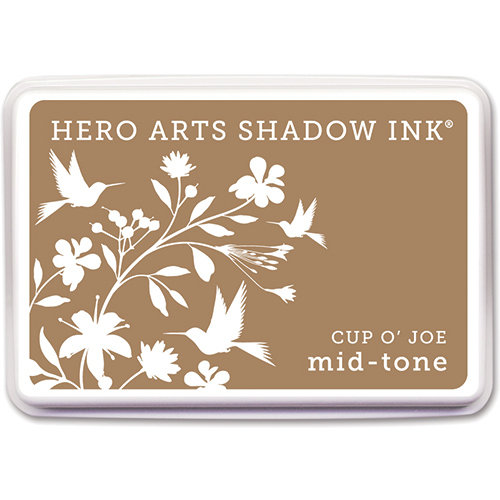 Hero Arts - Dye Ink Pad - Shadow Ink - Mid-Tone - Cup O' Joe