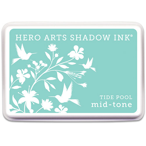 Hero Arts - Dye Ink Pad - Shadow Ink - Mid-Tone - Tide Pool