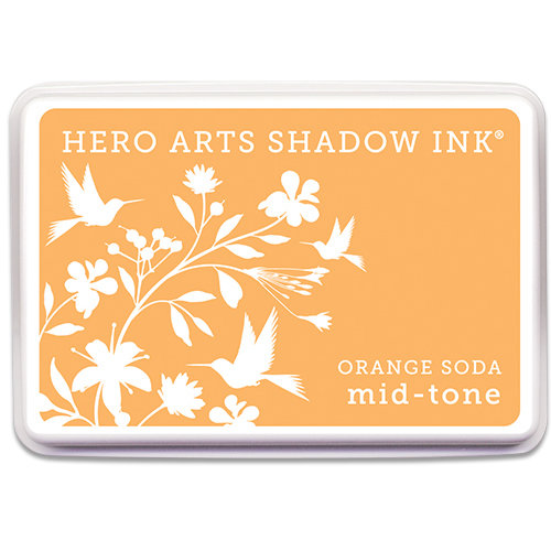 Hero Arts - Dye Ink Pad - Shadow Ink - Mid-Tone - Orange Soda