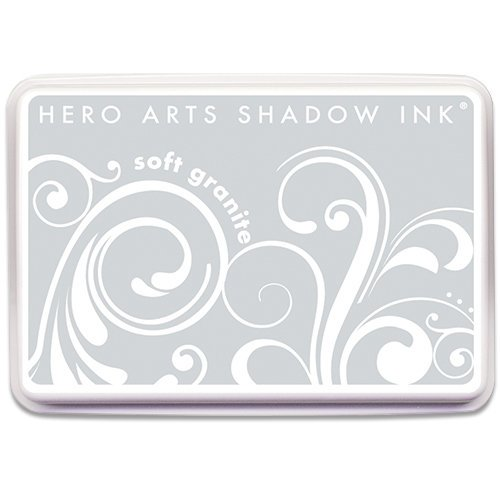 Hero Arts - Dye Ink Pad - Shadow Ink - Soft Granite