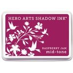 Hero Arts - Dye Ink Pad - Shadow Ink - Mid-Tone - Raspberry Jam