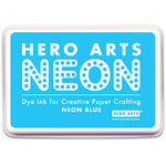 Hero Arts - Dye Ink Pad - Neon Blue
