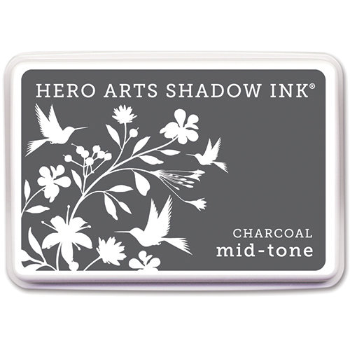 Hero Arts - Dye Ink Pad - Shadow Ink - Mid-Tone - Charcoal