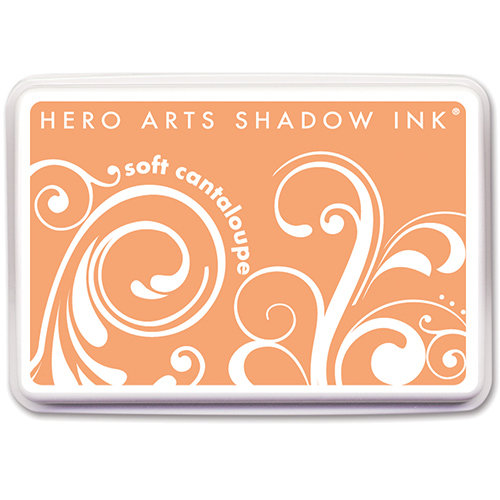Hero Arts - Dye Ink Pad - Shadow Ink - Soft Cantaloupe