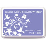 Hero Arts - Dye Ink Pad - Shadow Ink - Mid-Tone - Passion Flower
