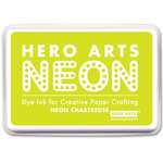 Hero Arts - Dye Ink Pad - Neon Chartreuse
