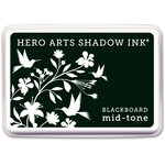 Hero Arts - Dye Ink Pad - Shadow Ink - Mid Tone - Blackboard