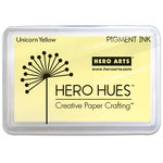 Hero Arts - Unicorn Pigment Ink Pad - Pastel Yellow