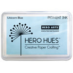 Hero Arts - Unicorn Pigment Ink Pad - Pastel Blue