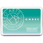 Hero Arts - Ombre Ink Pad - Mint to Green