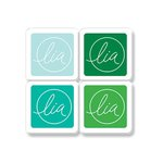 Hero Arts - Lia Griffith Collection - Ink Cubes Pack - Winter Greens