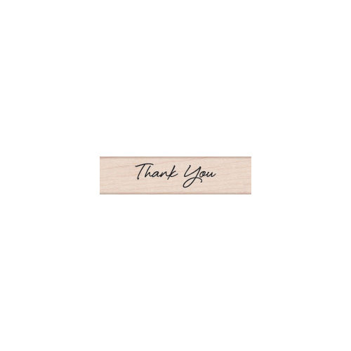 Hero Arts - Woodblock - Wood Mounted Stamps - Thank You