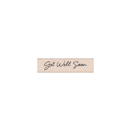Hero Arts - Woodblock - Wood Mounted Stamps - Get Well Soon