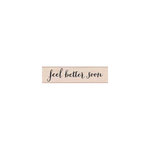 Hero Arts - Woodblock - Wood Mounted Stamps - Feel Better Soon Script