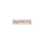Hero Arts - Woodblock - Wood Mounted Stamps - Scripted Mother's Day